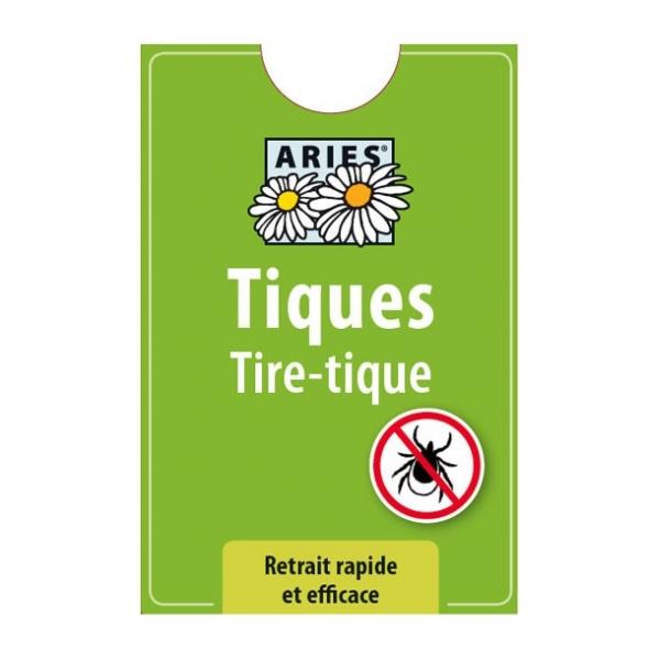 Tire-tique - format carte bancaire Ariès