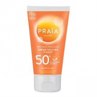 Crème solaire visage SPF 50+ Praïa