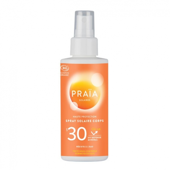 Spray solaire SPF 30 – Praïa