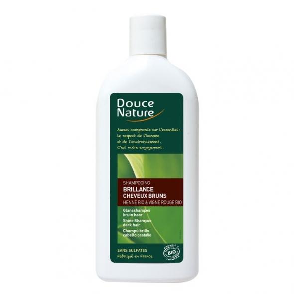 Shampoing brillance – Cheveux bruns