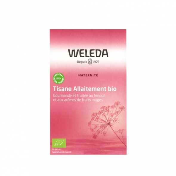 Tisane allaitement Weleda