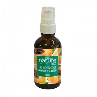 Huile végétale bio de noyau d'abricot - 50 ml