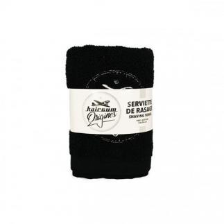 Serviette de rasage en coton Hairgum Origines