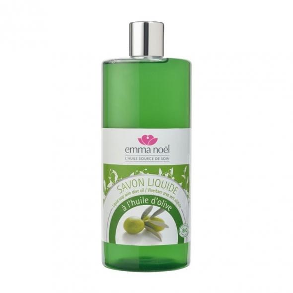 Savon liquide à l'huile d'olive Bio Emma Noel