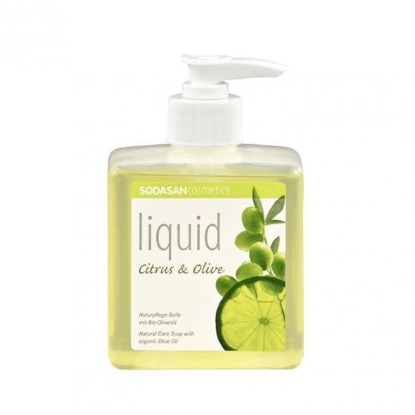 Savon liquide bio Sodasan