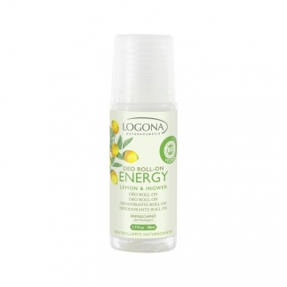 Deo roll-on Energy citron/gingembre Logona