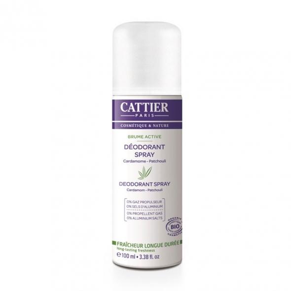 Déodorant spray Cattier