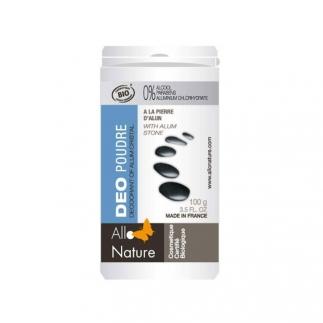 Déodorant poudre à la pierre d'alun - 100 g