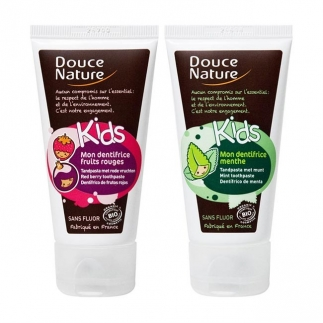 Dentifrice Kids sans fluor Douce Nature
