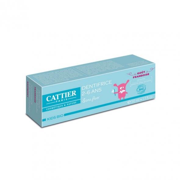 Dentifrice enfant 2-6 ans Framboise Cattier