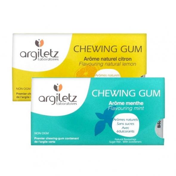 Chewing gum sans sucre Argiletz