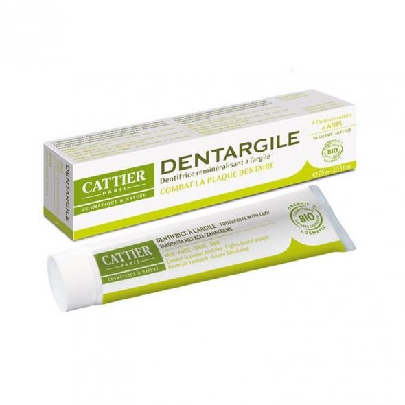 Dentifrice reminéralisant à l'argile Dentargile Cattier