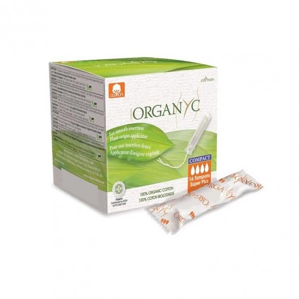Tampon bio avec applicateur Organyc