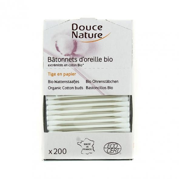 Coton-tiges bio Douce Nature