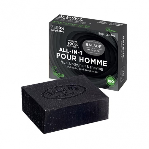 Savon All-in-1 pour homme Balade en Provence
