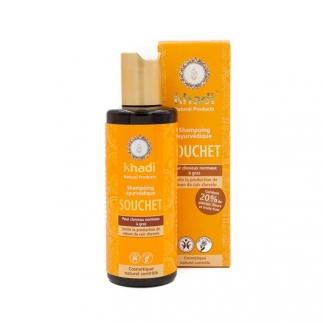 Shampooing ayurvédique Souchet - Cheveux normaux à gras - 210 ml