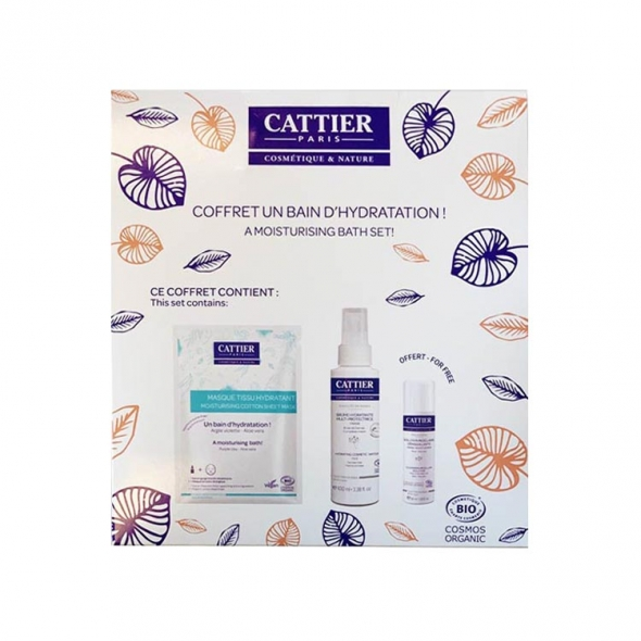 Coffret visage hydratation Cattier