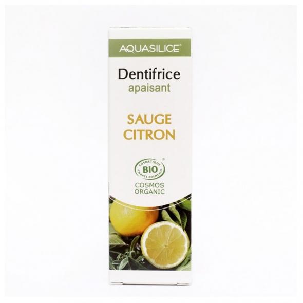 Dentifrice Sauge/Citron Apaisant Aquasilice