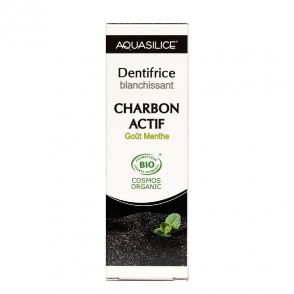 Dentifrice Charbon actif Blanchissant Aquasilice