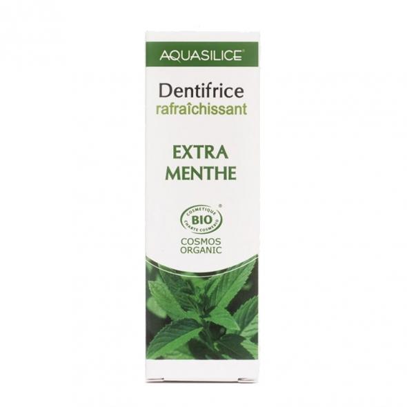 Dentifrice extra menthe Aquasilice