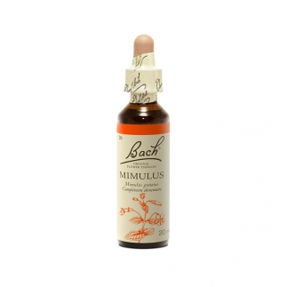 Fleur de Bach Mimule n°20 - Phobies et petites peurs - 20 ml