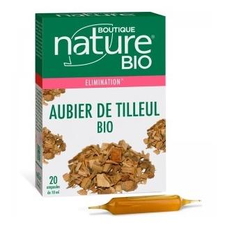 Aubier de Tilleul bio - Elimination - 20 Ampoules