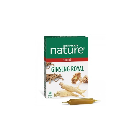 Ginseng Royal - Vitalité - 20 ampoules