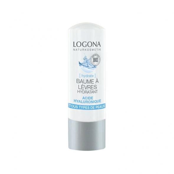 Baume à lèvres hydratant acide hyaluronique Logona