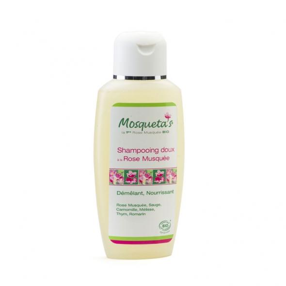 Shampoing doux à la rose muquée bioMosqueta's