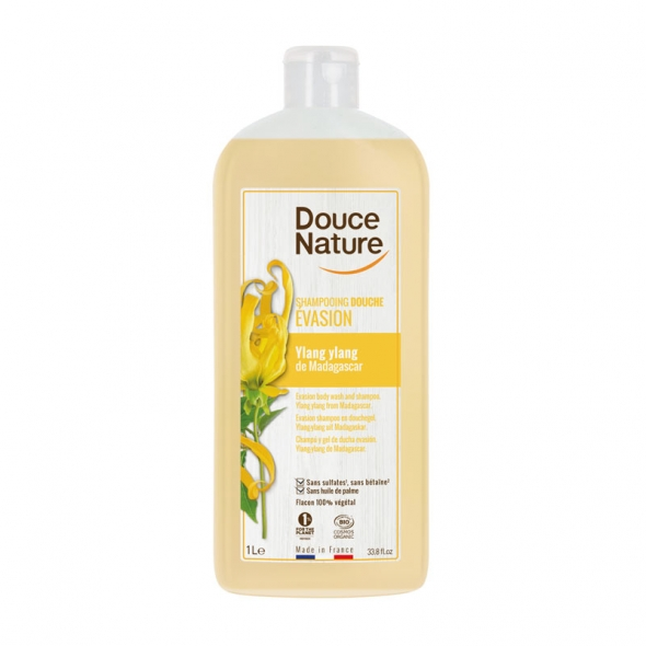 Shampooing douche Evasion Douce Nature