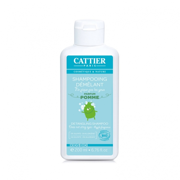 Shampooing démêlant enfant Cattier