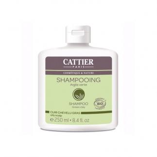 Shampooing à l'argile Cheveux gras Cattier