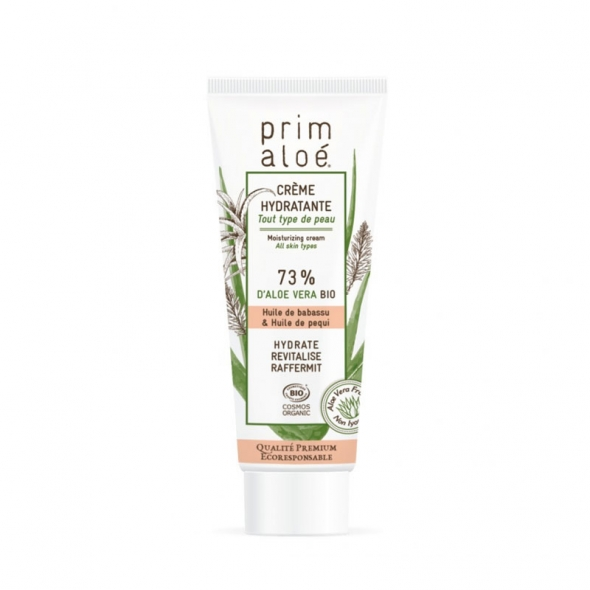 Crème visage bio hydratante Prim'Aloé