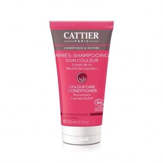 Après shampoing cheveux colorés Cattier