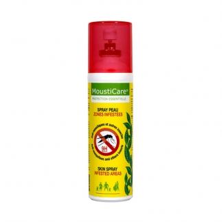 Spray peau anti-moustiques zone infestées