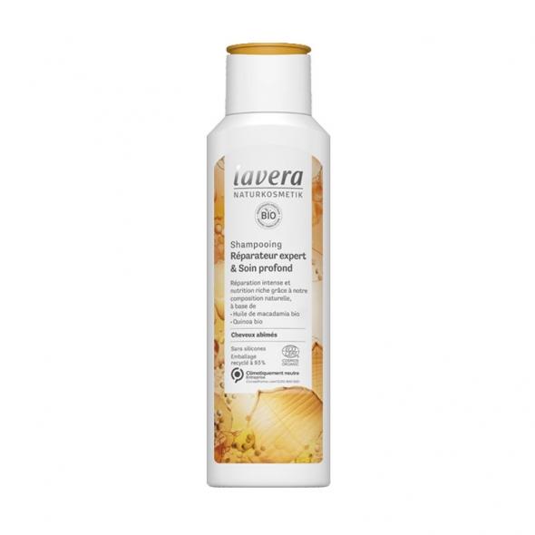 Shampoing bio cheveux abîmés Lavera