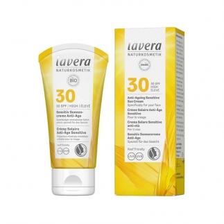 Crème solaire anti-âge SPF30 Lavera