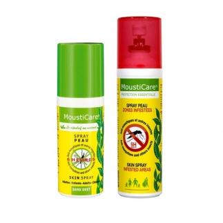 Spray anti-moustiques bio Mousticare