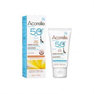 Crème solaire bébé SPF50+ - Nature Sun - 50 ml