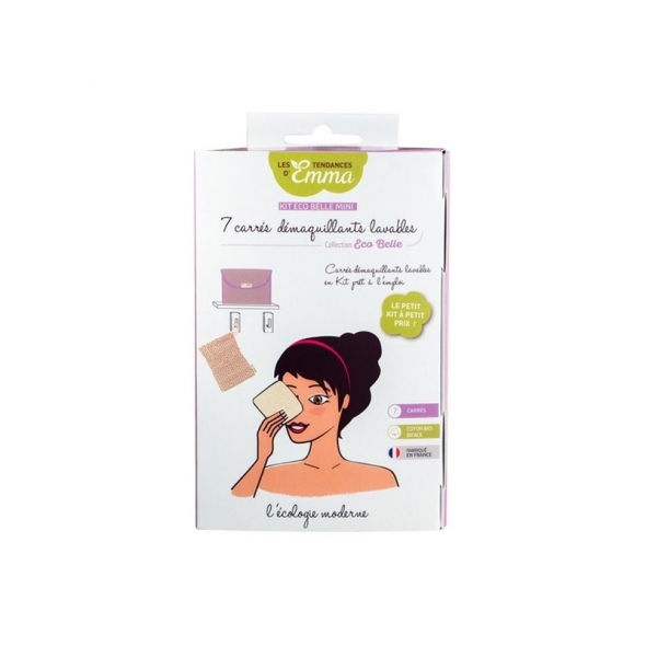 Kit Eco Belle Mini cotons démaquillants Les tendances d'Emma