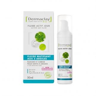 Fluide matifiant bio Dermaclay