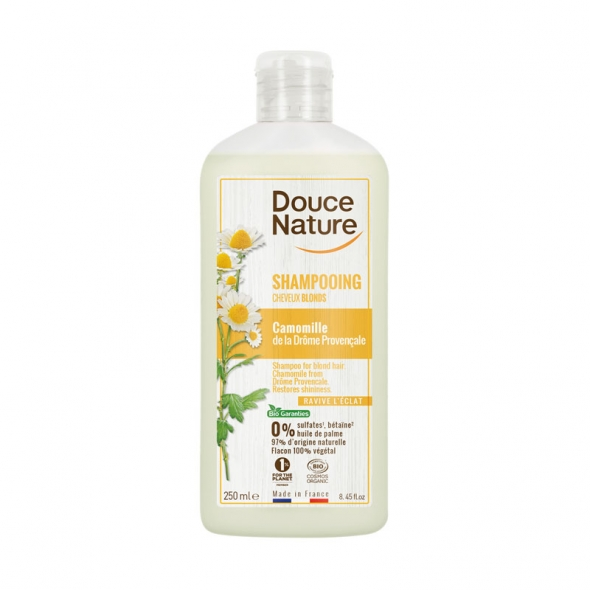 Shampoing cheveux blonds bio Douce Nature