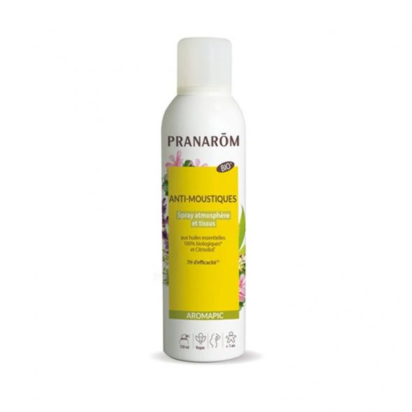 Spray anti-moustiques bio - atmosphère et tissus - 150ml