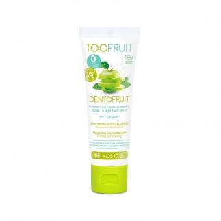Dentifrice enfant bio sans fluor Toofruit