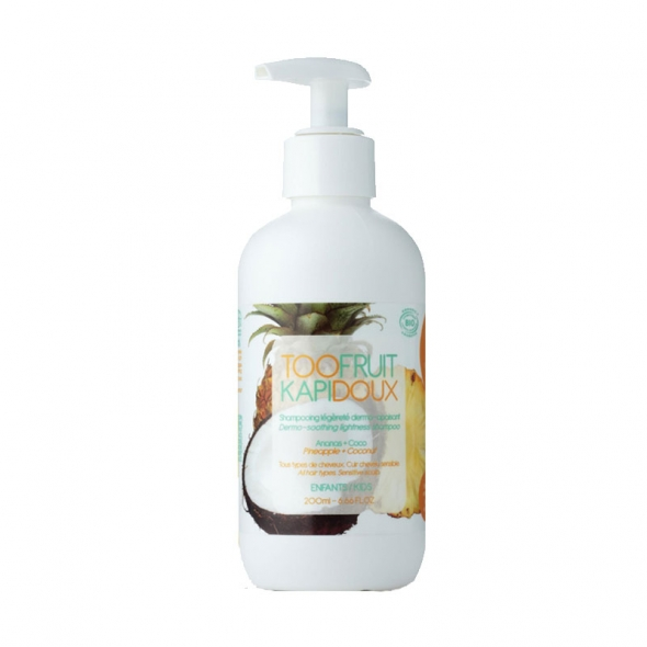 Shampoing enfant bio – Ananas/Coco Toofruit