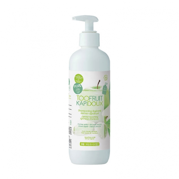 Shampoing bio enfant Pomme/Amande douce Toofruit