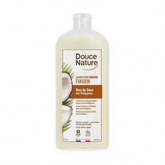 shampooing douche noix de coco