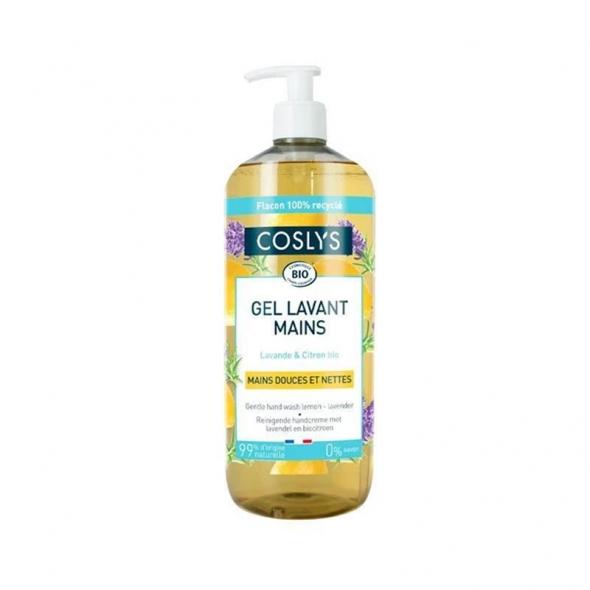 Gel lavant mains Lavande & citron bio Coslys