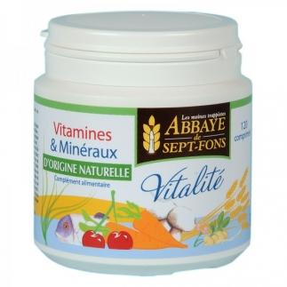 Vitalité 11 vitamines et 8 minéraux