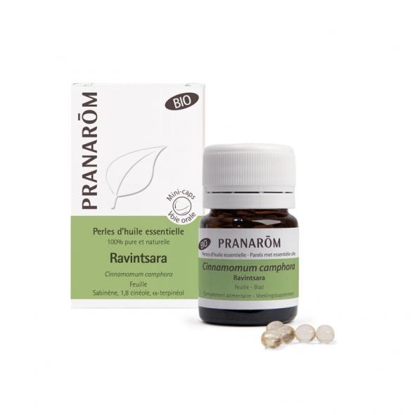 Perles Ravintsara bio Pranarôm